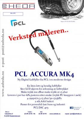 PCL ACCURA MK4 Dac 403 verksted måleren