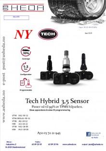 Tec Hybrid 3,5 sensor Juni 2019