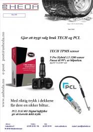 Tech TPMS og PCL Dac403